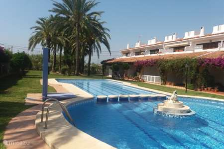 Vacation rental Spain, Costa Blanca, Dénia bungalow Las Ranas