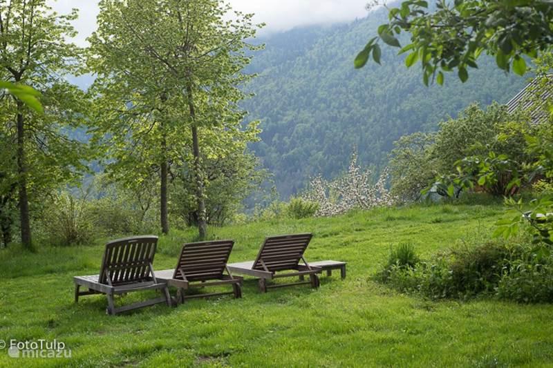 Vakantiehuis Frankrijk, Isère, Vaujany Bed & Breakfast Familiekamer Chalet Solneige zomer