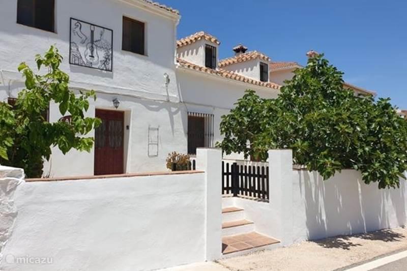 Vakantiehuis Spanje, Costa del Sol, Comares Vakantiehuis Casa La Flamenca