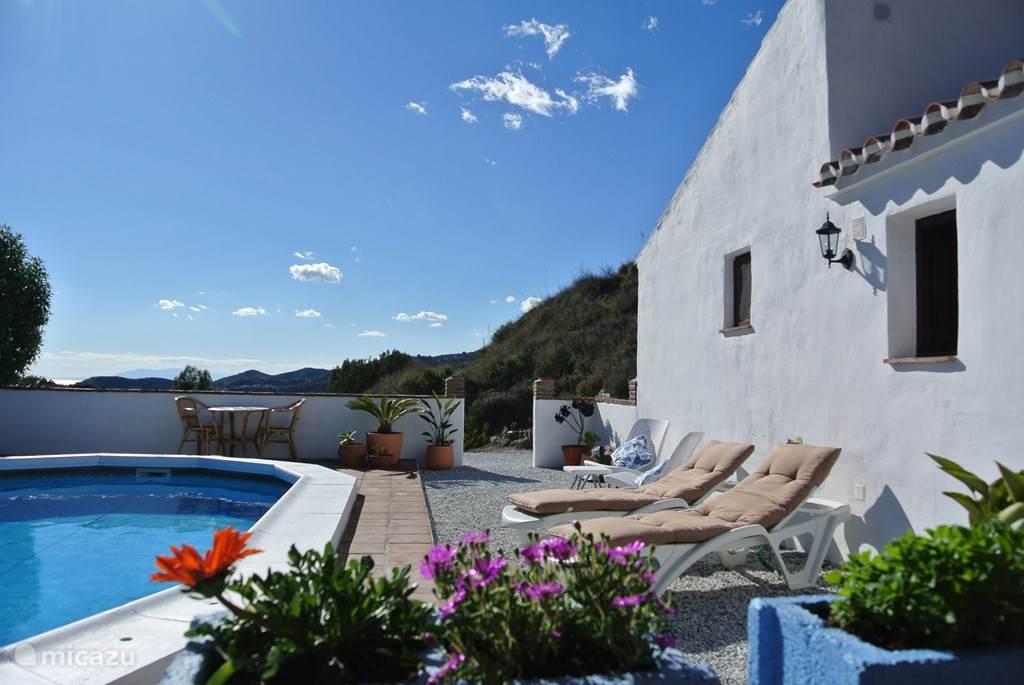 Vacation rental Spain, Costa del Sol, Torrox bed & breakfast Finca Buena Vida