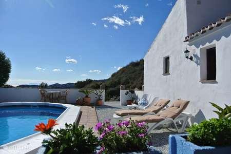 Vakantiehuis Spanje, Costa del Sol, Torrox-Costa - bed & breakfast Finca Buena Vida (Deluxe kamer)