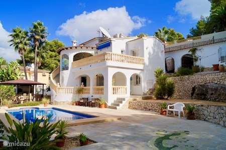 Vacation rental Spain, Costa Blanca, Moraira villa Casa Juliana