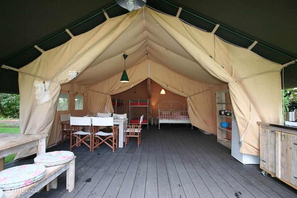 Vakantiehuis Frankrijk, Languedoc-Roussillon, Meze glamping / safaritent / yurt Safaritent Merlot
