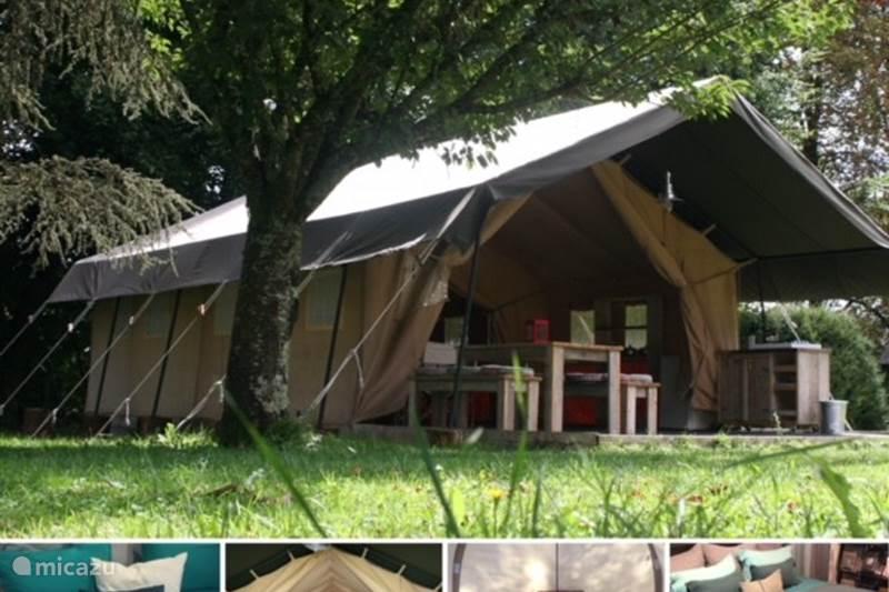 Vakantiehuis Frankrijk, Hérault, Mèze Glamping / Safaritent / Yurt Safaritent Merlot