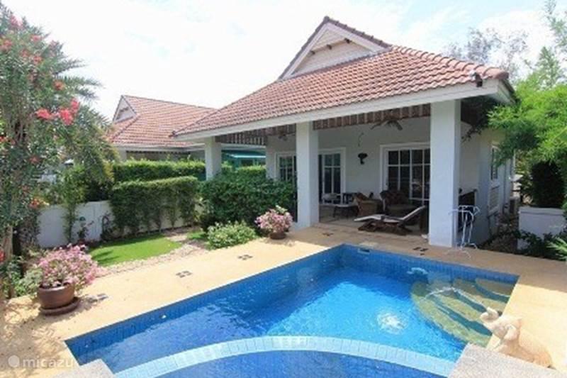 Vakantiehuis Thailand, Centraal-Thailand, Hua Hin Villa Pool villa in rustig resort
