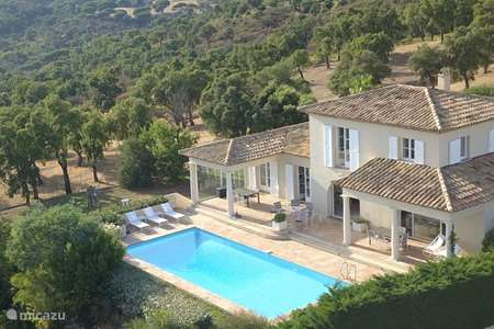 Vacation rental France, French Riviera, Sainte-Maxime villa Villa Bonbonnette