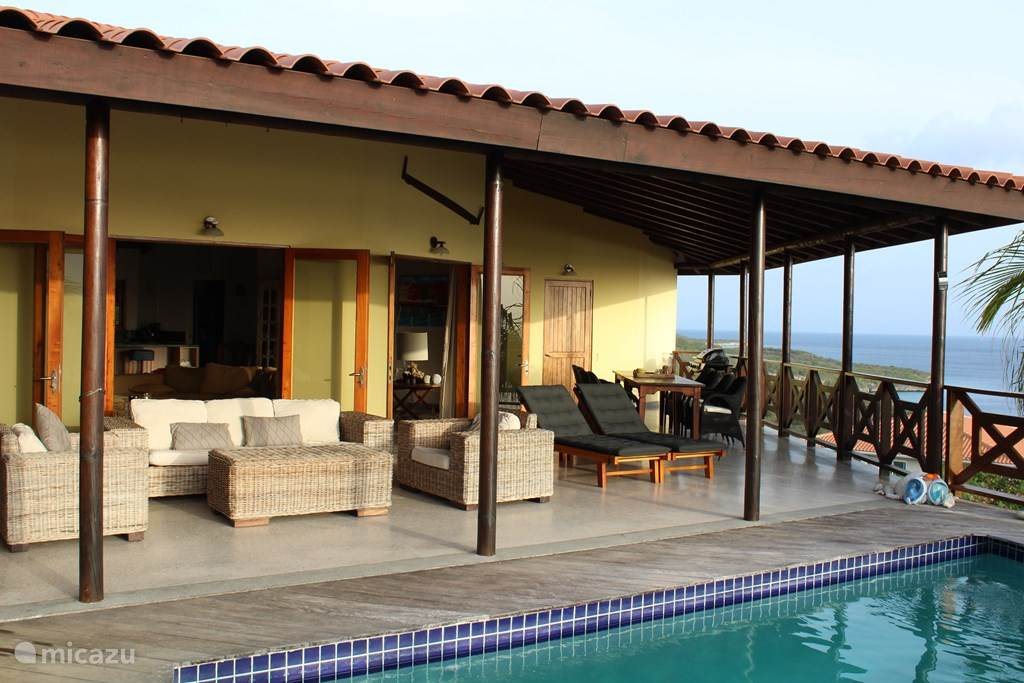 Vakantiehuis Curaçao, Banda Abou (west), Cas Abou Villa Villa Grandi Bista