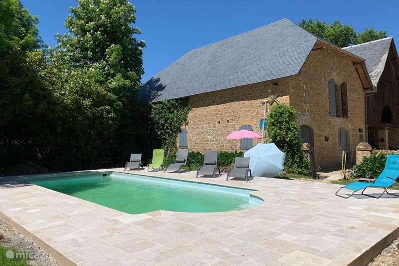 Vacation rental France, Lot, Sarrazac Farmhouse Beauté de Sarrazac