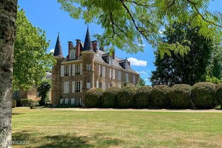 Vacation rental France, Dordogne, Sarrazac manor / castle Chateau de Sarrazac