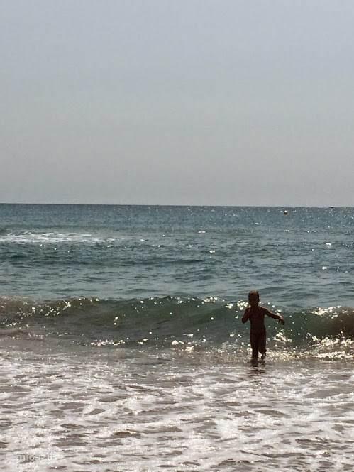 Een eindeloze dag op het strand!