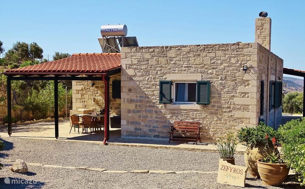 Vakantiehuis Griekenland, Kreta, Kamilari Villa Villa Zefyros - rustig zuid Kreta