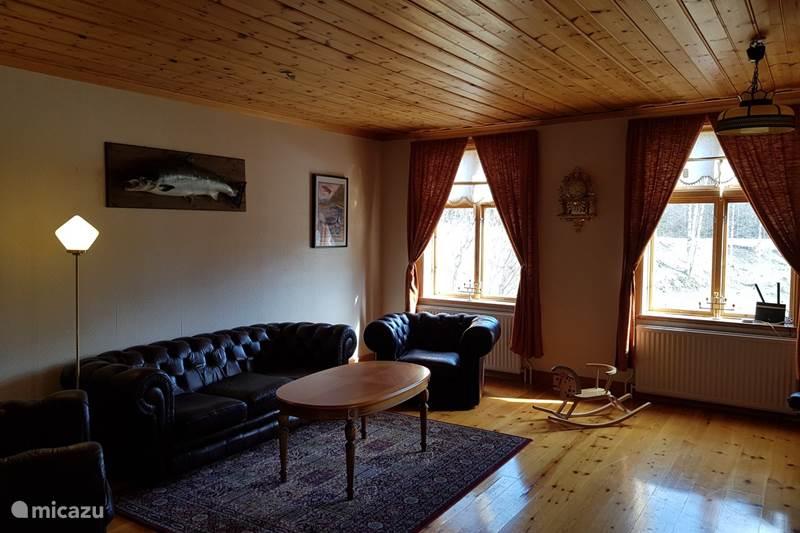 Vakantiehuis Zweden, Västerbotten, Lögdeå Villa Where the wild river runs