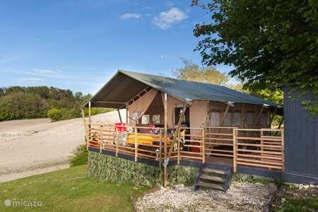 Vacation rental France, Dordogne, Celles glamping / safari tent / yurt Glamping La Rose
