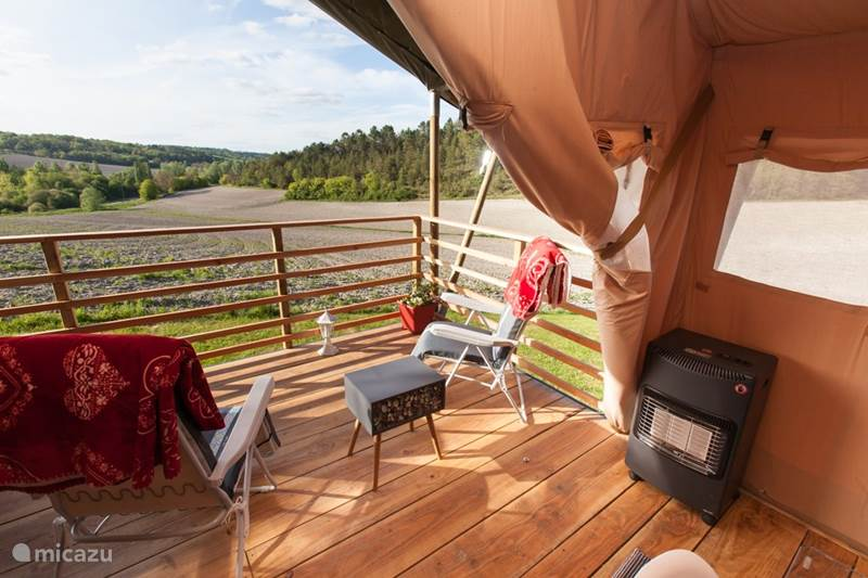 Vakantiehuis Frankrijk, Dordogne, Celles Glamping / Safaritent / Yurt Glamping La Rose