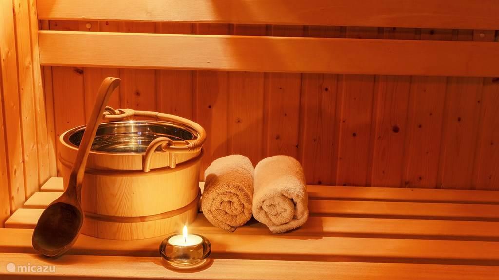Totale ontspanning in een sauna