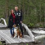 Carine & Toon, Lakeside Sweden