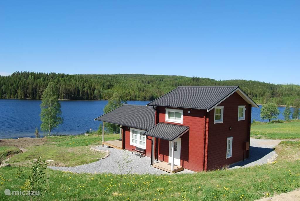 Vakantiehuis Zweden, Jämtland, Gällö vakantiehuis Luxe Stuga met Sauna en Uitzicht