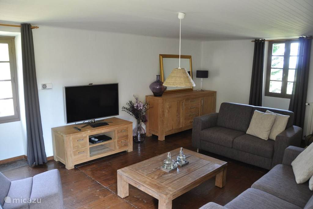 LED TV in woonkamer