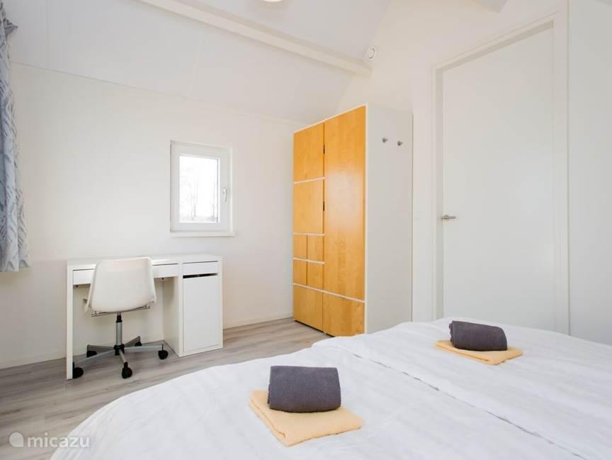Slaapkamer 1 eerste verdieping voor 2 personen.