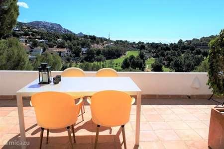 Vakantiehuis Spanje, Costa Blanca, Altea appartement Bungalow Don Cayo Golf