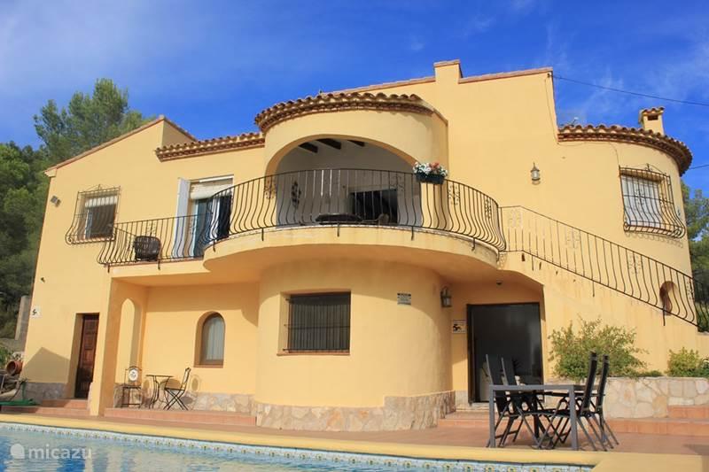 Vakantiehuis Spanje, Costa Blanca, Jalón Villa Casa Marrón 2-6 personen