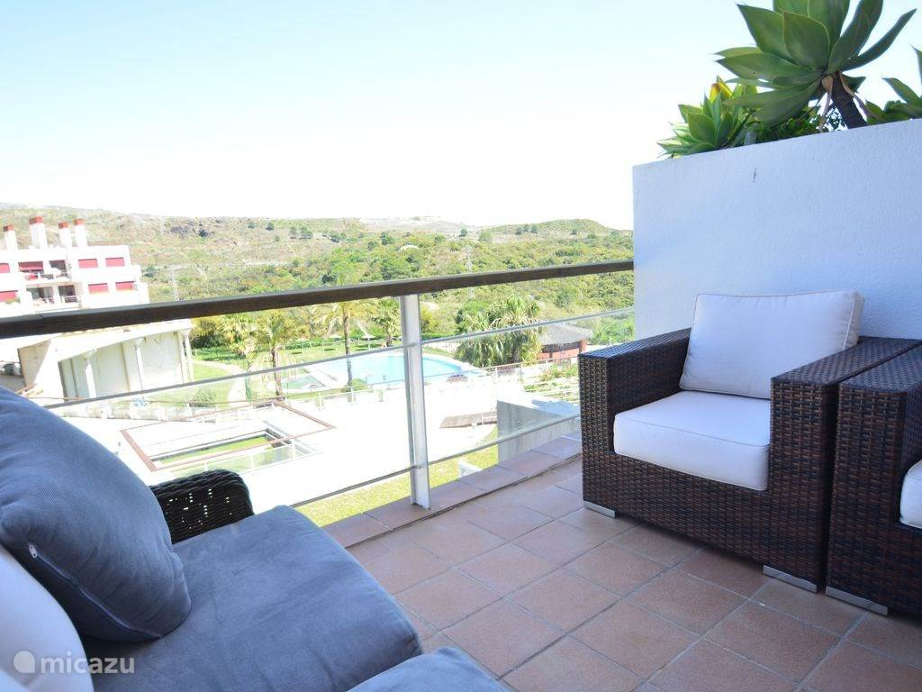 Vakantiehuis Spanje, Costa del Sol, Estepona Penthouse Een plaats om niet te vergeten