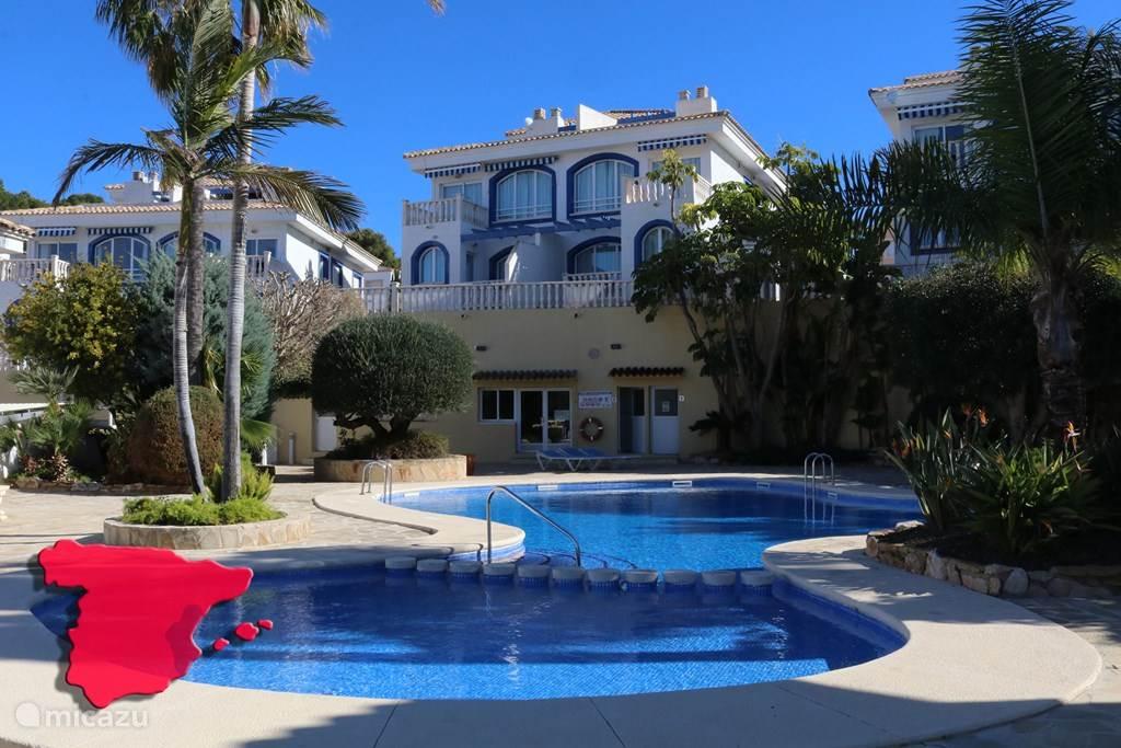 Vakantiehuis Spanje, Costa Blanca, Calpe bungalow Bungalow Casanova