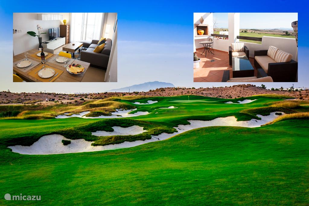 Vakantiehuis Spanje, Murcia, Condado de Alhama appartement Alhama Golf Penthouses P02