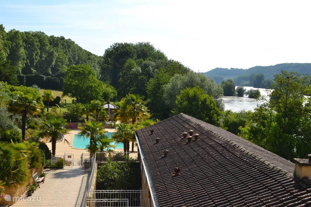 Vakantiehuis Frankrijk, Dordogne, Lalinde Vakantiehuis Vakantiewoning in oud wijnpakhuis