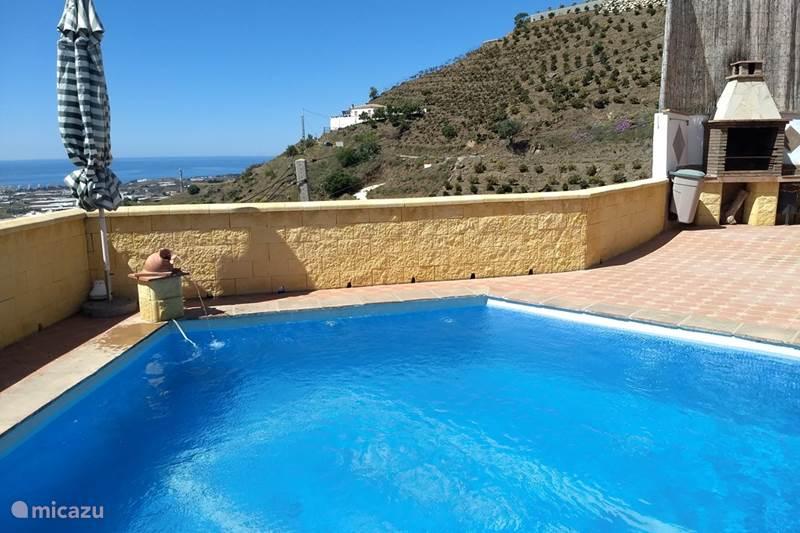 Vakantiehuis Spanje, Costa del Sol, Algarrobo Villa Casa Grande Familia Aanbieding