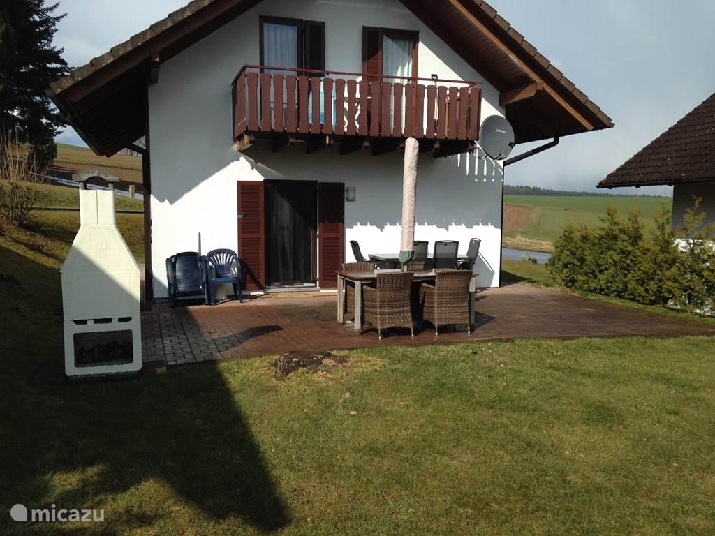 Vakantiehuis Duitsland, Hessen, Kirchheim Vakantiehuis Vakantiewoning Waldblick