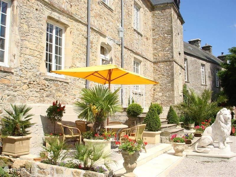 Vakantiehuis Frankrijk, Normandië, Brix landhuis / kasteel 2 persoons unit