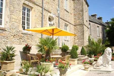 Vakantiehuis Frankrijk, Manche – landhuis / kasteel Sfeervol 2 p Kasteelappartement