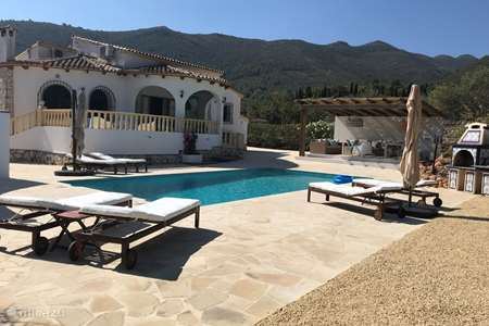 Vacation rental Spain – villa Casa Tranquila