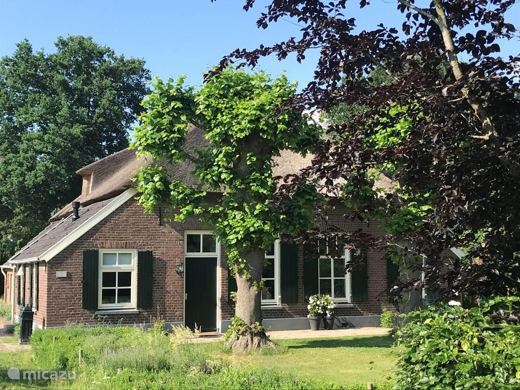 Het voorhuis van de woonboerderij