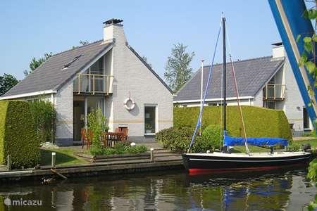 Vakantiehuis Nederland, Friesland, Woudsend - vakantiehuis Villa Markant