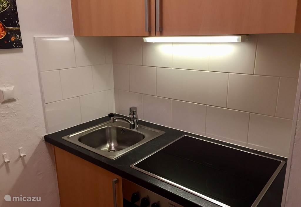 Beautiful kitchen block, equipped with all comforts.