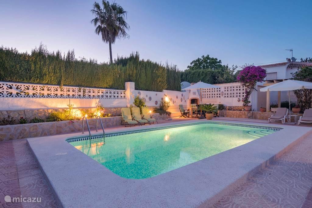 Vakantiehuis Spanje, Costa Blanca, Calpe villa CASA PRUDENTIA met separate studio