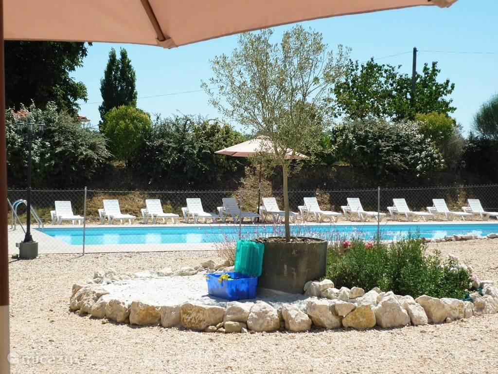 Zwembad 15mx5m (met afzonderlijk plonsbad)