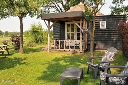 Vakantiehuis Nederland, Overijssel, IJhorst - blokhut / lodge Hutje aan de Wei