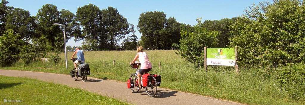Heerlijk fietsen in het Reestdal