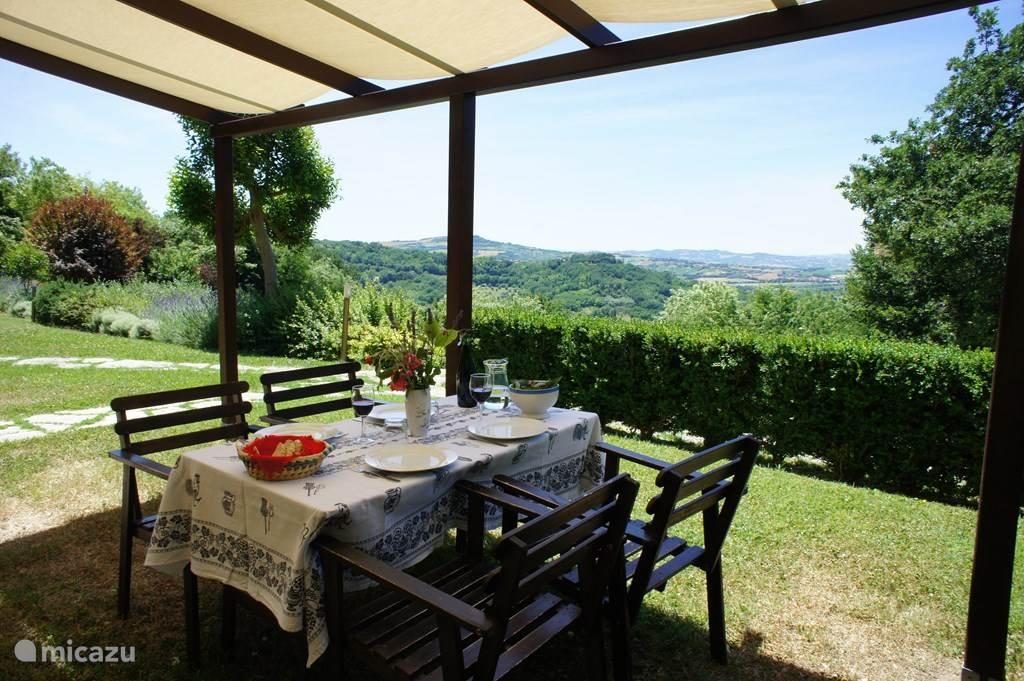 Ferienwohnung Italien, Marken, Fiorenzuola di Focara appartement Case san Bartolo - Le Ginestre