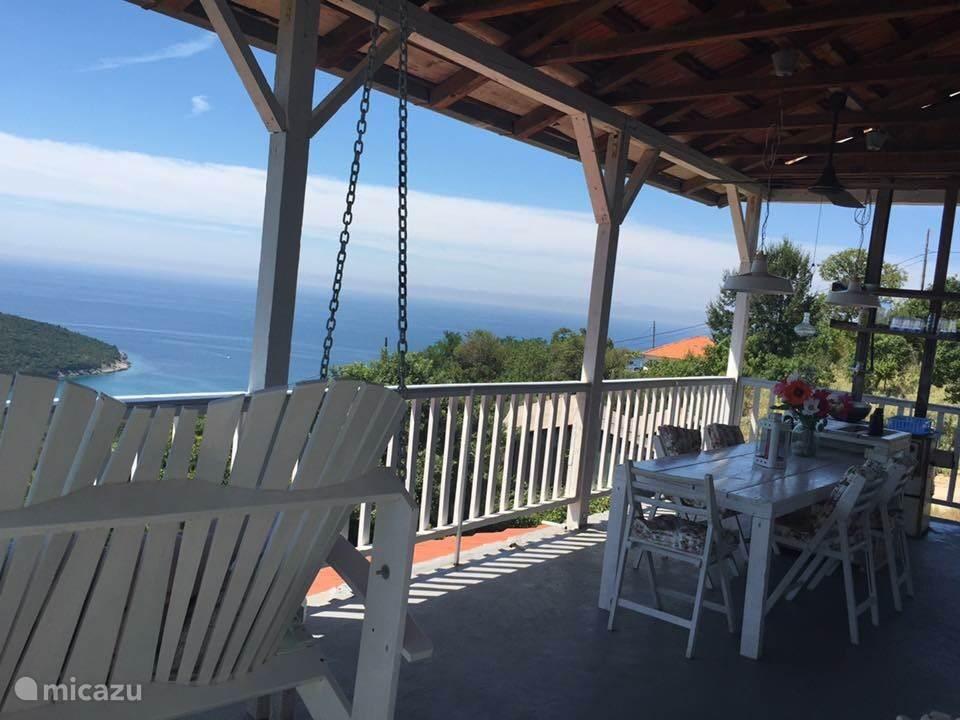 Vakantiehuis Montenegro, Kuststreek, Kruce Vakantiehuis Huis met zeezicht