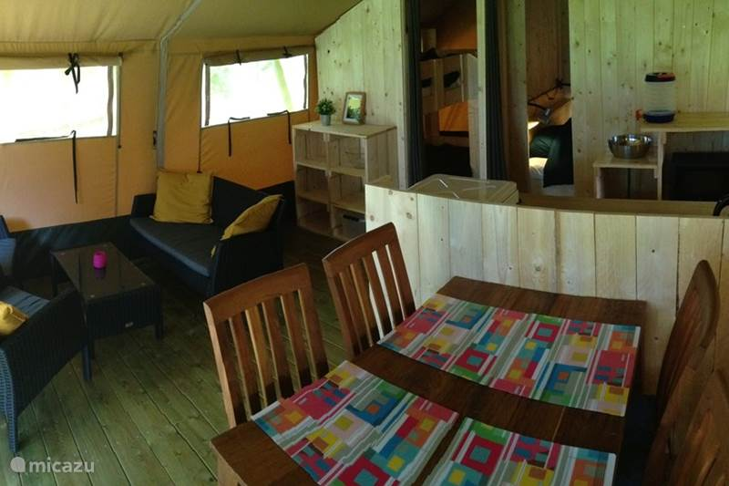 Vakantiehuis Duitsland, Nedersaksen, Warmsen Glamping / Safaritent / Yurt Ferienhof BrinkOrt 1
