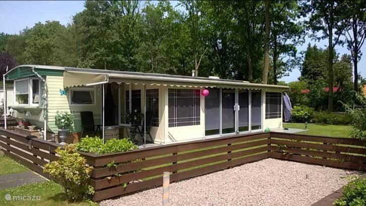 Vakantiehuis Nederland, Noord-Brabant, Vinkel stacaravan Dierenbos inclusief attractiepas