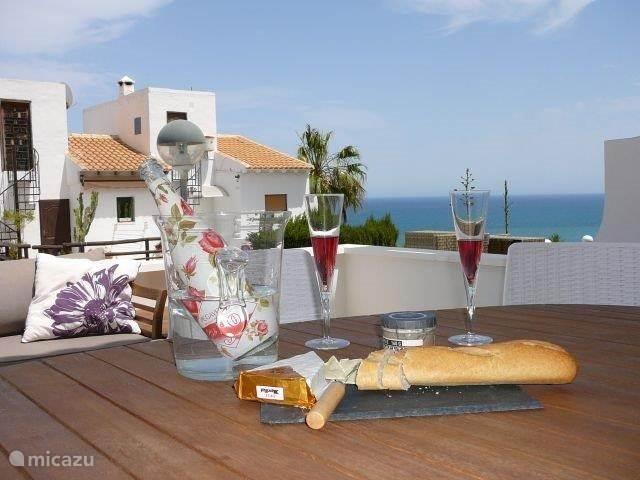 Vakantiehuis Spanje, Costa Blanca, Santa Pola - geschakelde woning Casa Themba Sea View