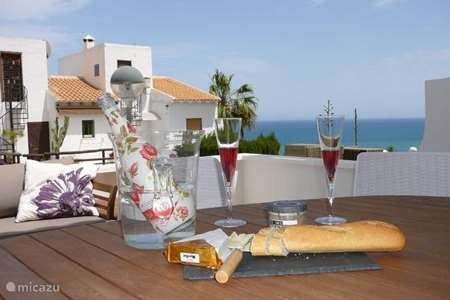 Vakantiehuis Spanje, Costa Blanca, Gran Alacant - Santa Pola - geschakelde woning Casa Themba Sea View