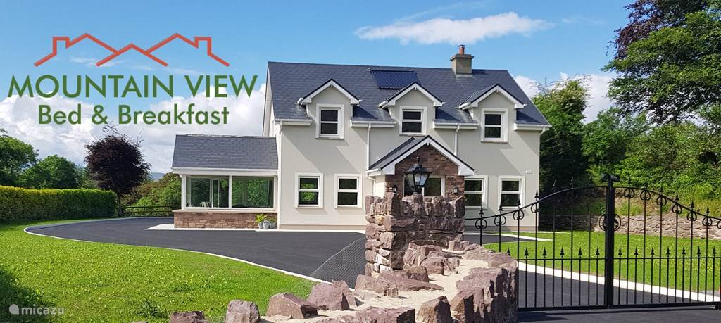 Vakantiehuis Ierland, Kerry, Kenmare bed & breakfast MOUNTAIN VIEW B&B, Room: 1