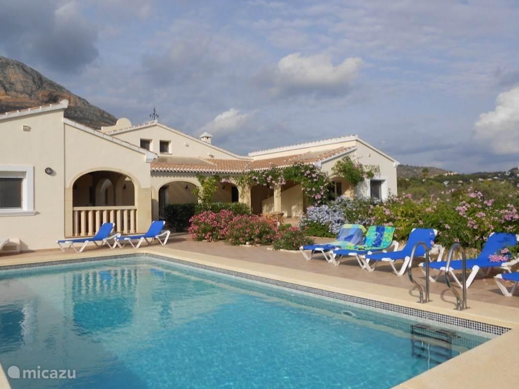 Vakantiehuis Spanje, Costa Blanca, Javea - vakantiehuis Villa Mariposa