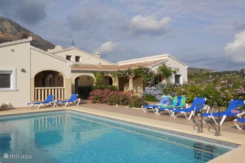 Vakantiehuis Spanje, Costa Blanca, Javea Vakantiehuis Villa Mariposa